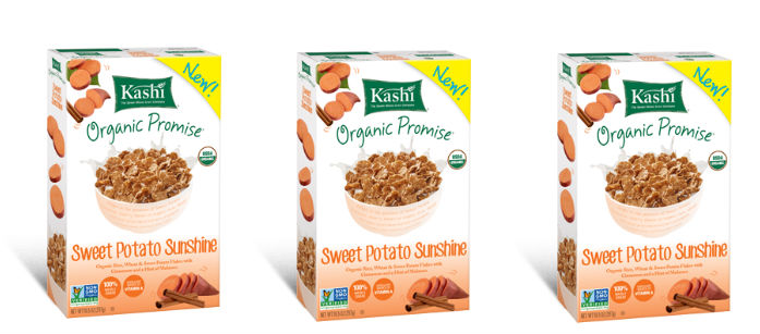 ... : Kashi Organic Promise Sweet Potato Sunshine Cereal | TrendMonitor