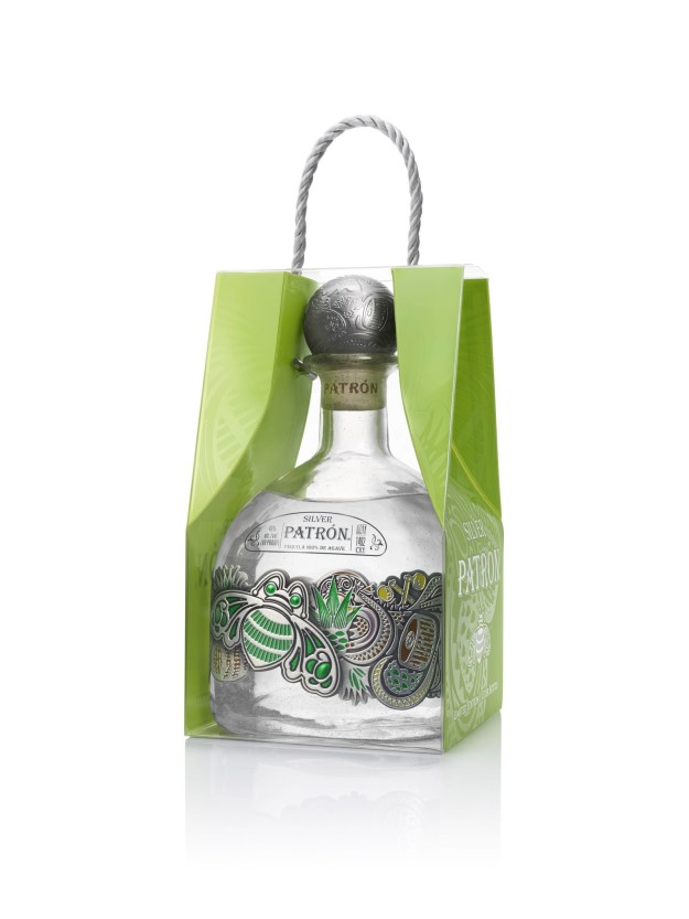 2017 One-Liter Limited Edition Patron Silver (PRNewsfoto/Patron Tequila)