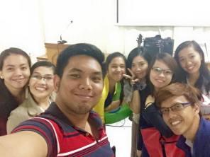 Etter det første møtet i Marikina