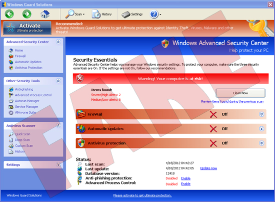 Windows Guard Solutions
