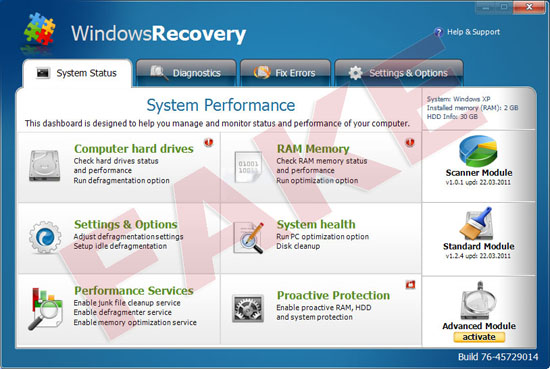 WindowsRecovery virus