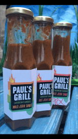 Paul's Grill Great Hot Sauces