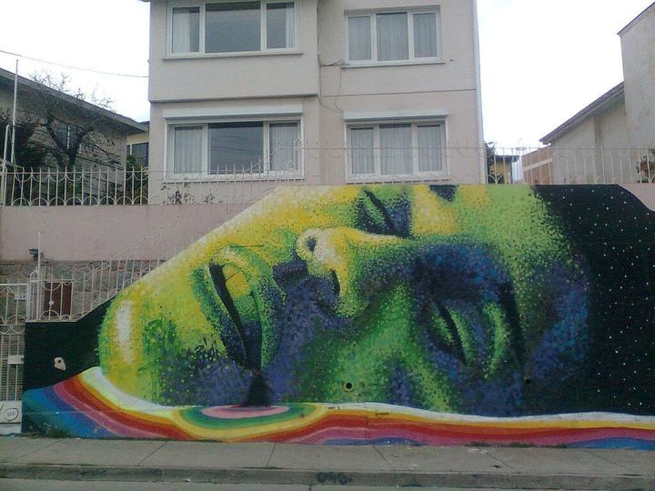 cultural immersion, street art, travel, tropicsgourmet, tropics, chile, Valparaiso