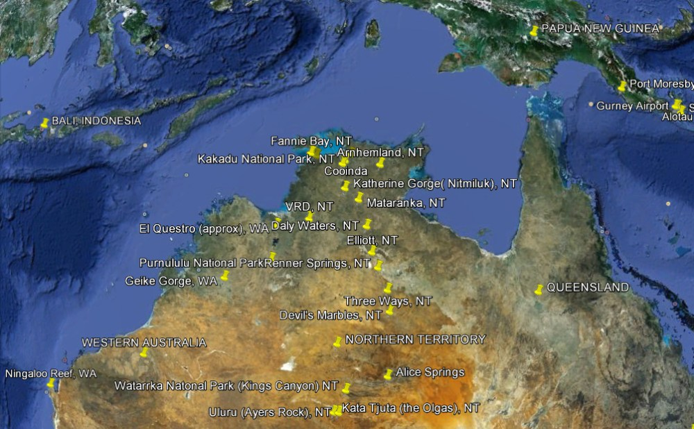 2013 A to Z Challenge: Travels through Australia's north