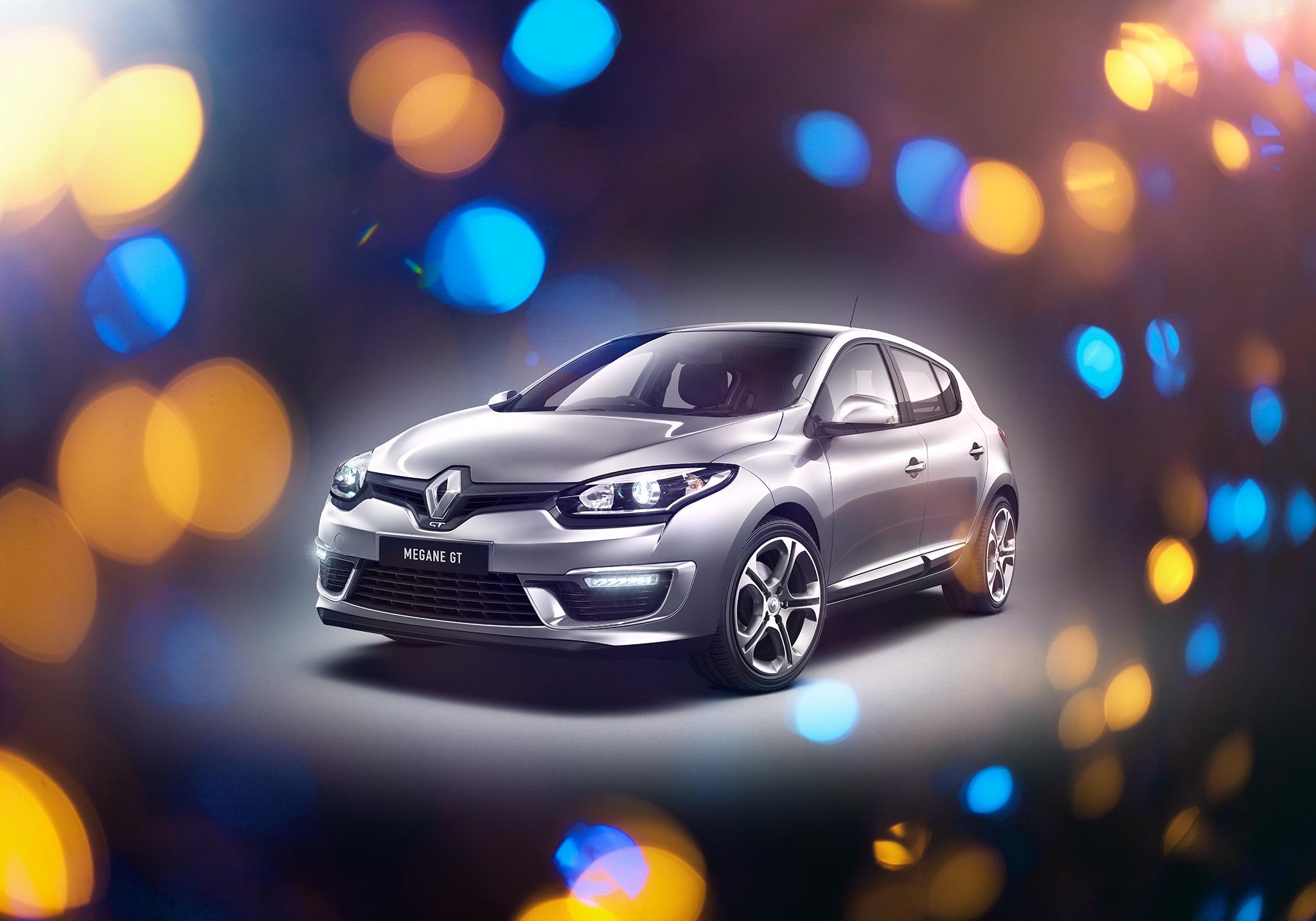 Renault Megane GTline Hatch - CGI