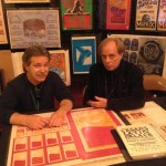 TRPS President Marty Hohn with Artist Mark Behrens