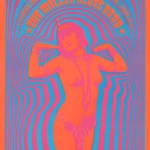 "Victor's first psychedelic pin up and the first to carry the ""Neon Rose"" name. One of his more popular posters back then and now. It was printed 3 times."