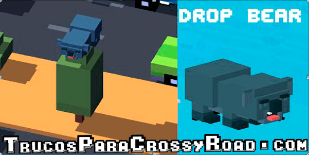 Desbloquear a Drop Bear Crossy Road