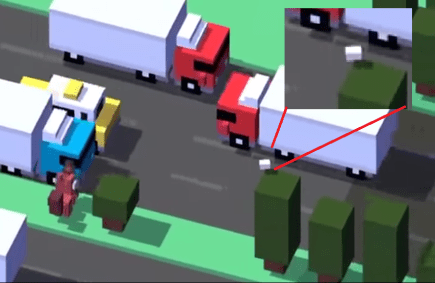 Balon Rugby Player Crossy Road