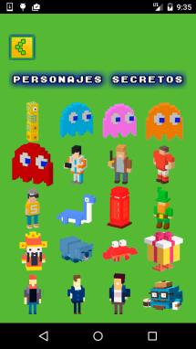 Todos los personajes secretos Crossy Road