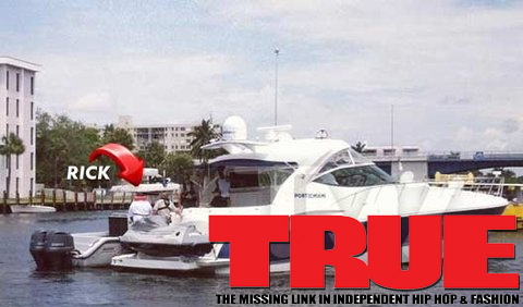 Rick Ross Pulled Over By Cops On A Boat For Weed