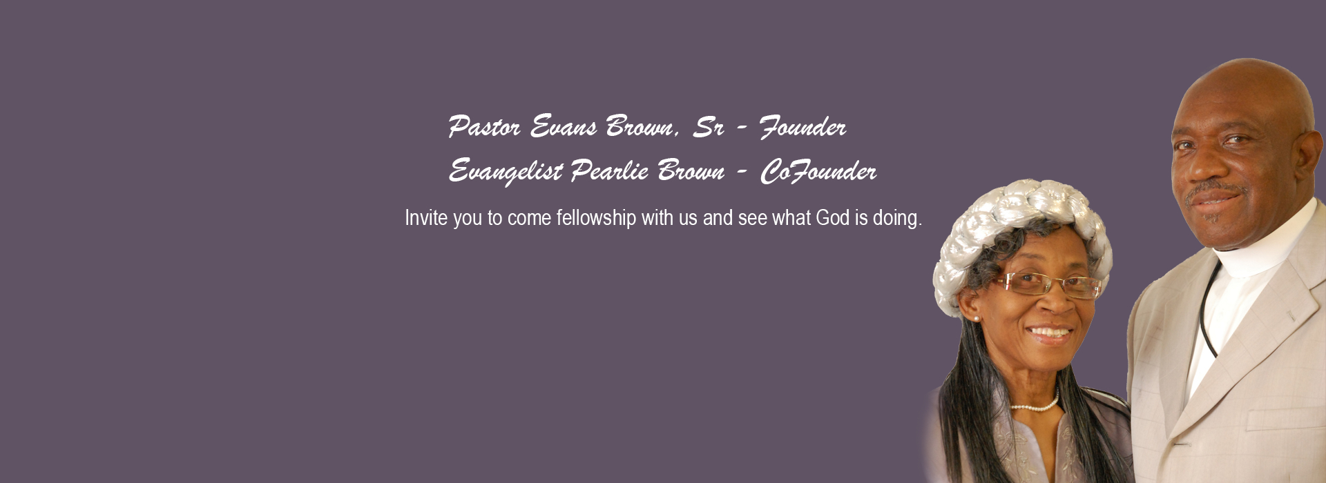 Pastor and First Lady-banner
