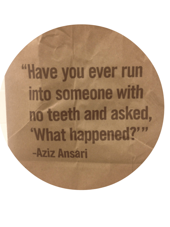 chipotle bag quote