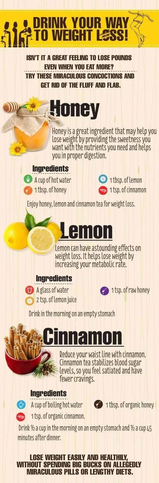 drinks for weight loss and detox