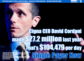Cigna_CEO_david cordani Deny Care_27 Million