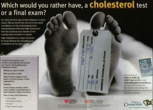 cholesterol Drug Ad