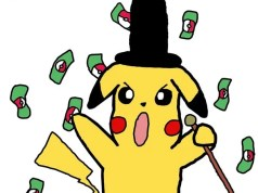 pikachu got money