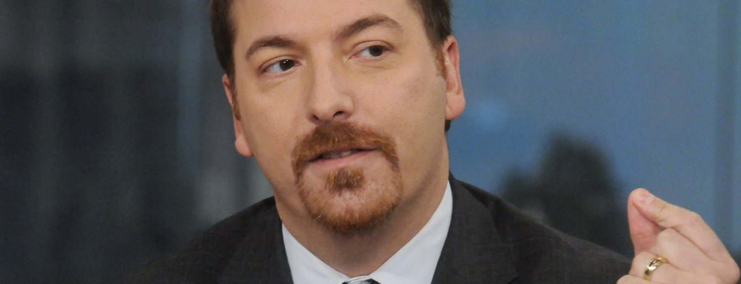 """MEET THE PRESS -- Pictured: Chuck Todd, Political Director, NBC News, appears on """"Meet the Press"""" in Washington, D.C., Sunday, Dec. 11, 2011.  (Photo by William B. Plowman/NBC/NBCU Photo Bank via Getty Images)"""
