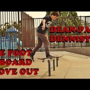 One Footed Frontboard Shove Out