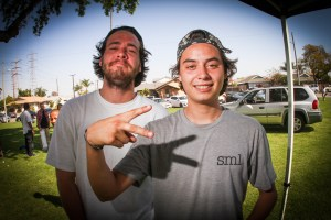 Danny Coral was chillin wit front bluntslide on bar dude:)
