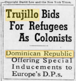 trujillo bids for refugees