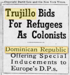 trujillo bids for refugees