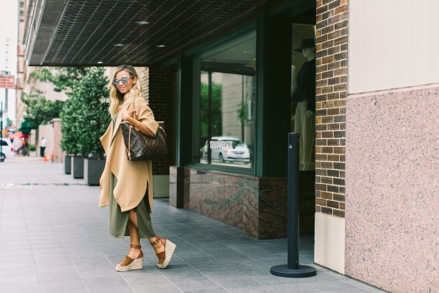 Chic Camel + Olive Outfit