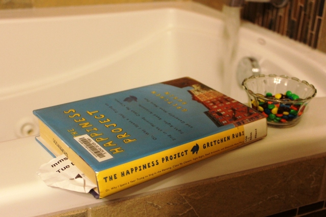 Heaven - chocolate, a book and a bath
