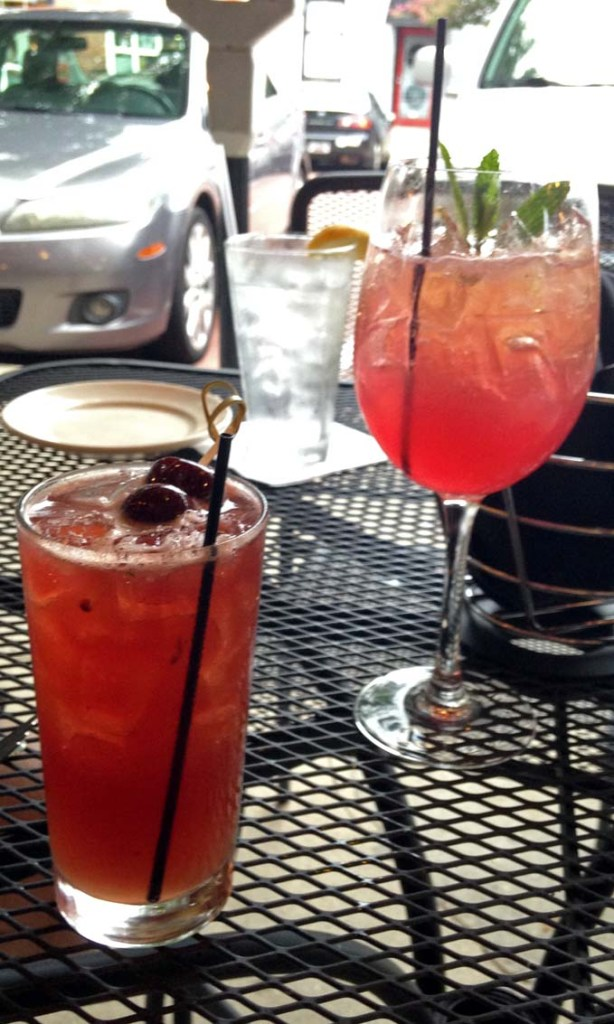 Drinks at Blue Marlin in Columbia, SC