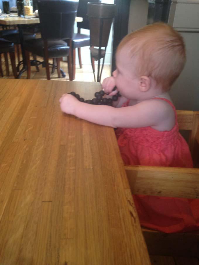 Chewbeads with Baby, Husk, Charleston, SC