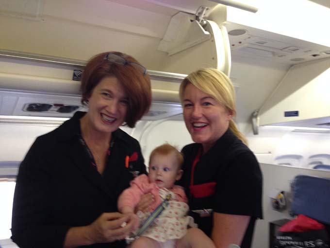 Mal's First Flight Attendant Friends