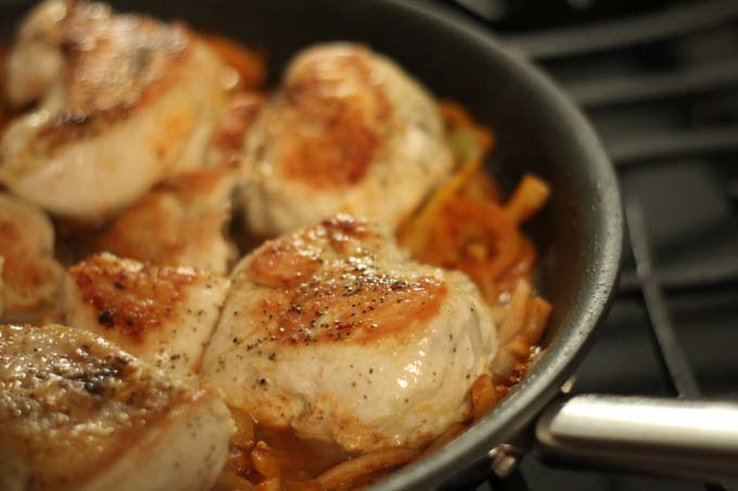 Weeknight Chicken Paprikash Recipe