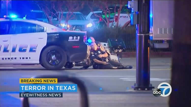 blame For Dallas Shooting