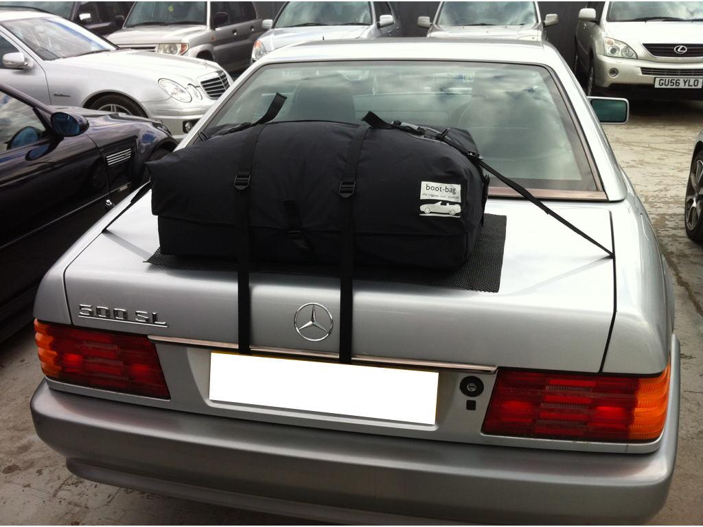 mercedes sl trunk rack luggage racks for convertibles. Black Bedroom Furniture Sets. Home Design Ideas