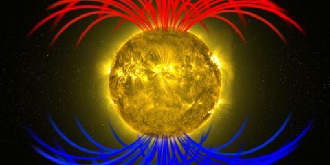 inversion champs magnétiques dynamo solaire