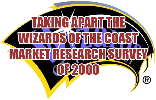 Wizards of the Coast Market Research Survey