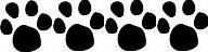 four paw print