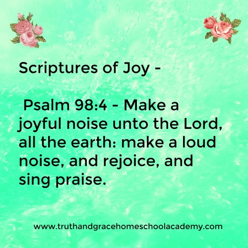 Medium Crop Of Scriptures On Joy