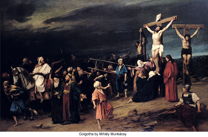 scourging and crucifixion of women