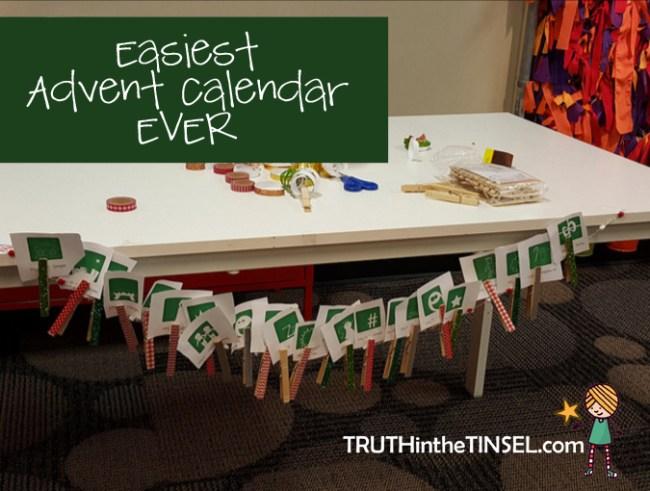 easiest advent calendar ever