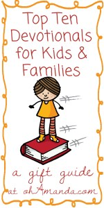 best devotionals for kids and families: gift guide