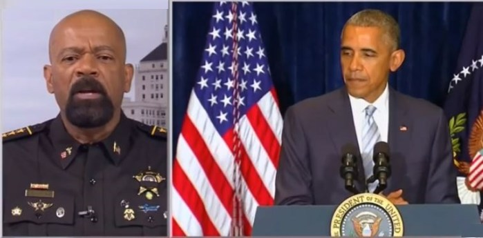 "Sheriff Clarke: ""Obama Didn't Cause Dallas Shootings But He Fuels The Anger!"" (Video)"
