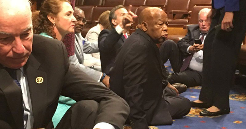 democrats-sit-in