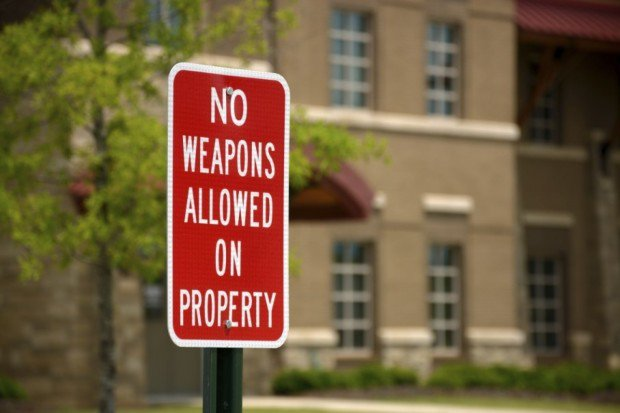 Want a Gun-Free Zone? This State Says That's on You: LITERALLY