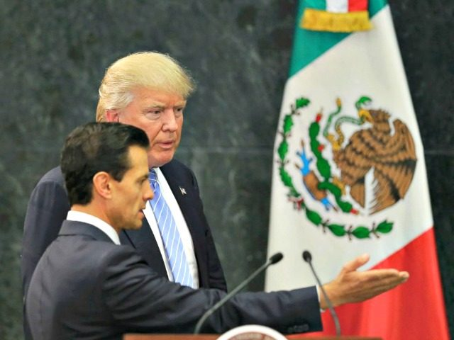 Trump In Mexico: We Have Right To Build Wall (Video)