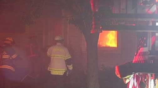 'Lie With Pigs, Fry Like Bacon' Written On House Before Fire
