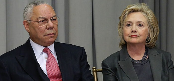 Clinton Told FBI Colin Powell Advised Her To Use Private Email; Powell Denies (Video)