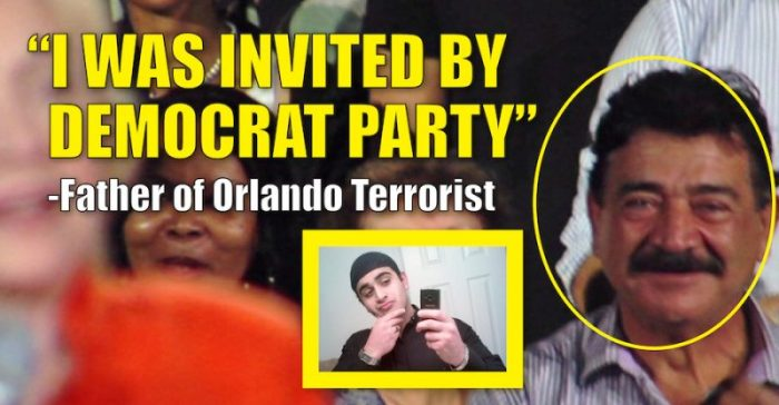 Breaking:  Father Of Orlando Terrorist Claims He Was Invited To Hillary's Rally (Video)