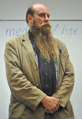Фёдор Успенский, скандинавист и славист. Фото Марии Поповой.