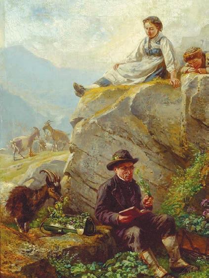 Рафаэль Риц. Ботаник (1883)